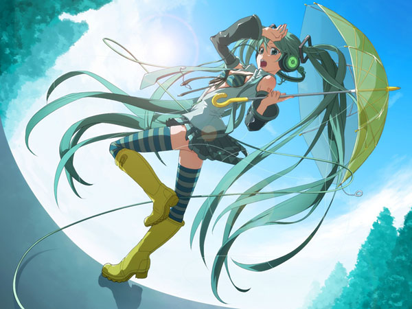 Family Mart and Hatsune Miku team up to brighten your rainy days with limited edition umbrellas