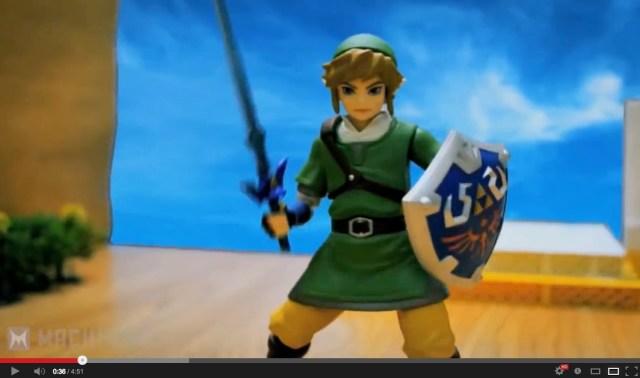 Acclaimed action figure animator turns his hand to Zelda 【Video】