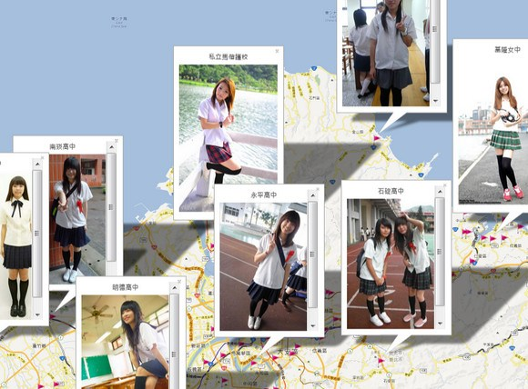 Taiwan introduces the future of cartography: nationwide school uniform maps