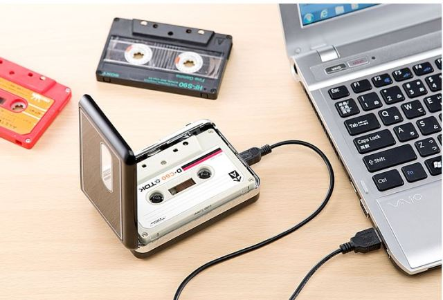 Still have any mix tapes lying about? Go digital with this cheap converter from Sanwa Direct
