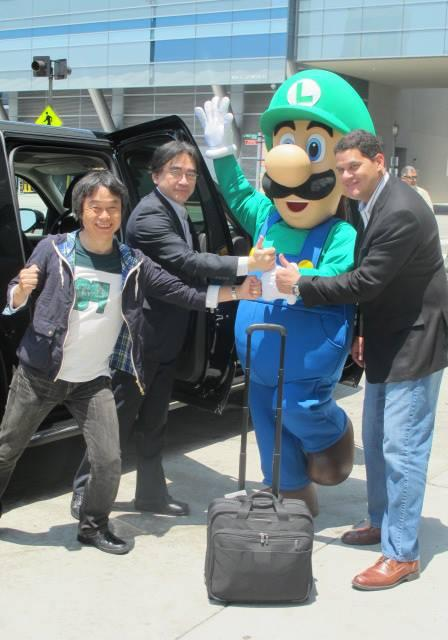 Good guy Luigi: Even picks you up at the airport!