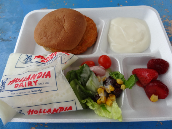 Our Japanese reporter's encounter with American school lunch
