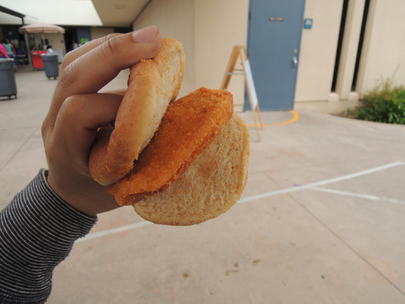 Our Japanese Reporter's Experience Eating American School Lunch11