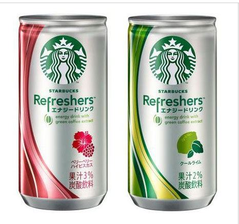 Starbucks Refreshers to hit store shelves June 25