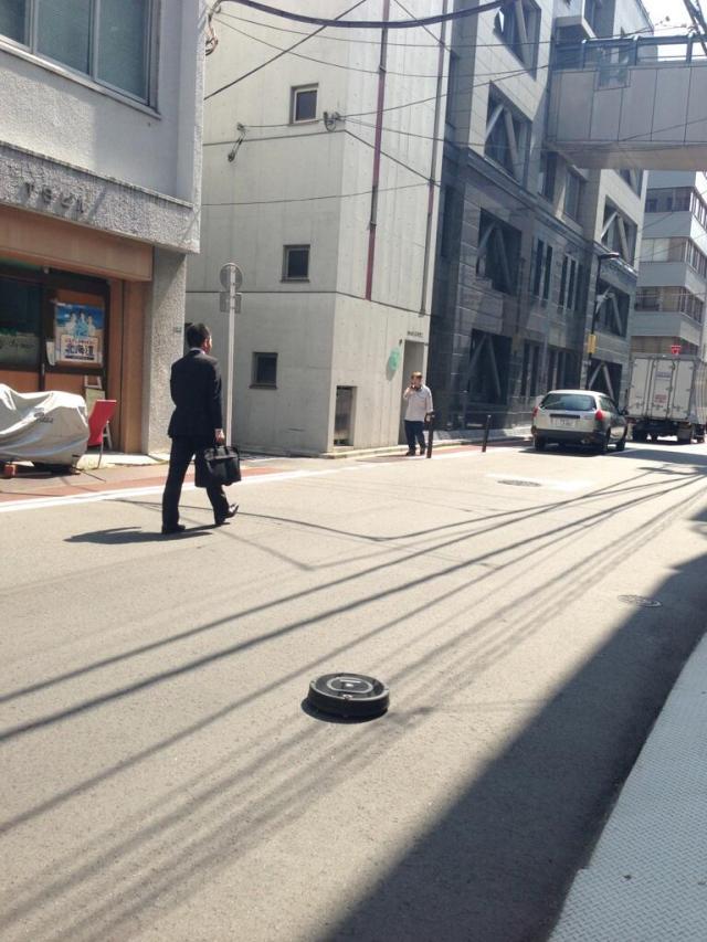 Rogue Roomba escapes captivity, streets near Kanda station now sparkly clean