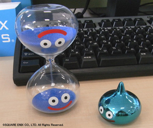 Dragon Quest slime hourglass makes interminable wait for cup noodles a little cuter