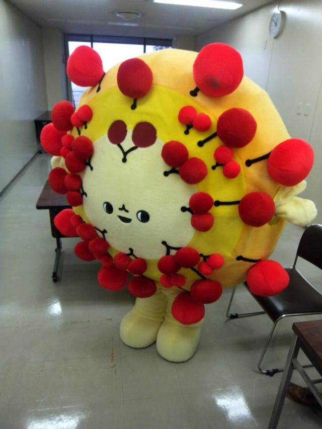 Yamagata fireworks show to introduce new mascot, Hanapon the halo of exploding cherries!