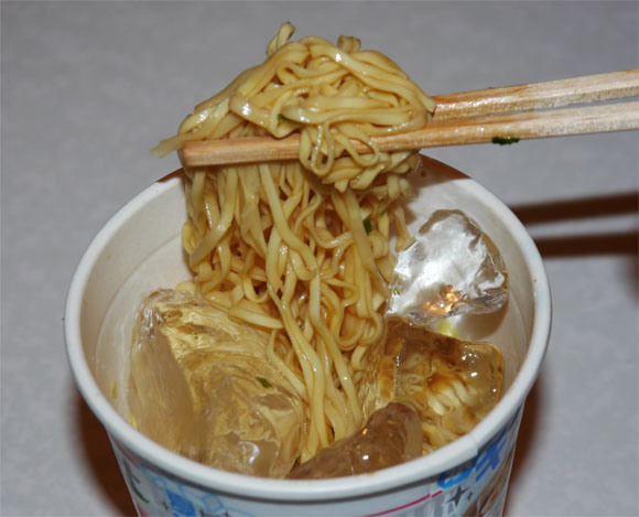 Cool down this summer with Ice Cup Noodles
