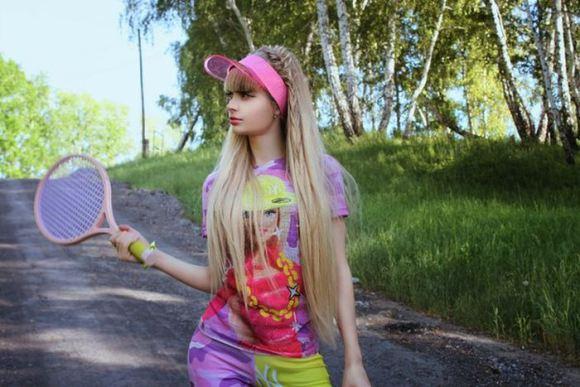"""Russian Barbie Girl"" Anzhelika Kenova25"