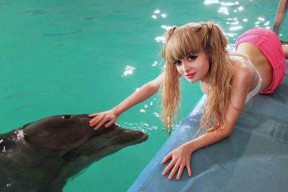"""Russian Barbie Girl"" Anzhelika Kenova32"