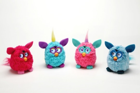 Our furry friend Furby now speaks Japanese!