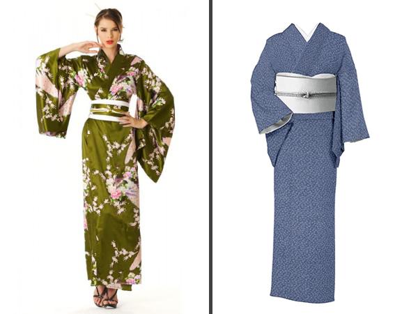 Westernized kimono resemble cosplay more than actual clothes