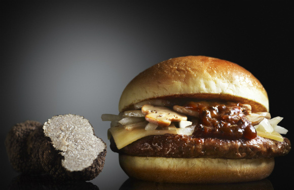 "Quarter Pounder Black Diamond diners ask, ""Where are the truffles?"""