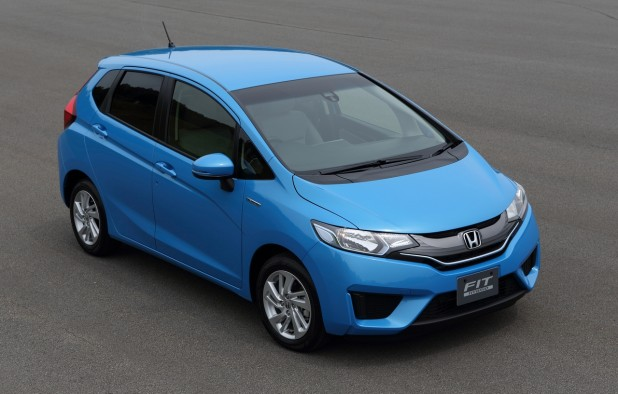 New king of hybrids: Honda's new Fit Hybrid to boast a 85.6 mpg fuel efficiency level