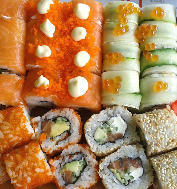 You call that sushi? Ukraine's take on the Japanese classic