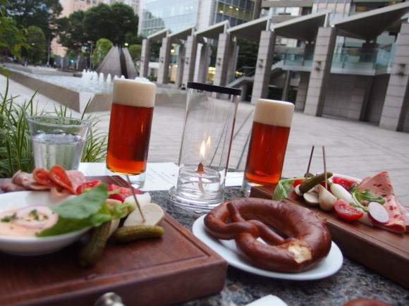 Unlimited refills of limited availability beer at Park Hyatt Tokyo