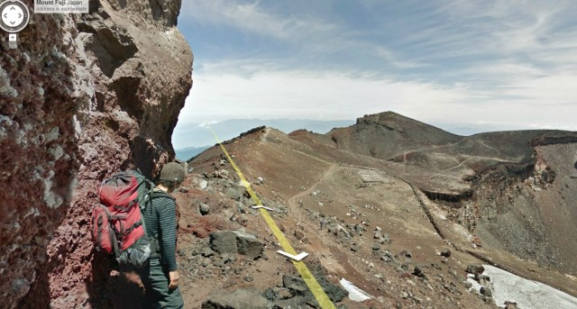 Google Street View captures view from top of Mt. Fuji, negates only reason to climb it