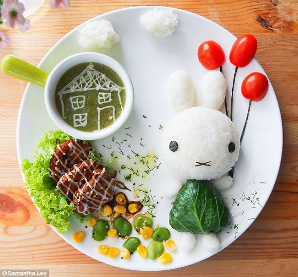 Malaysian mother wows Japan with meals that are too cute to eat!