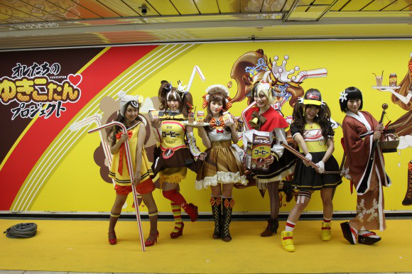 Coffee mascot event with cosplaying idols proves to be too much for some fans to handle
