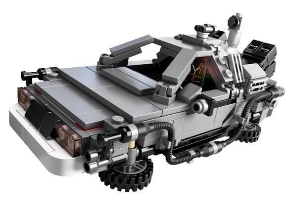 Great Scott! Back to the Future DeLorean Lego set finally here