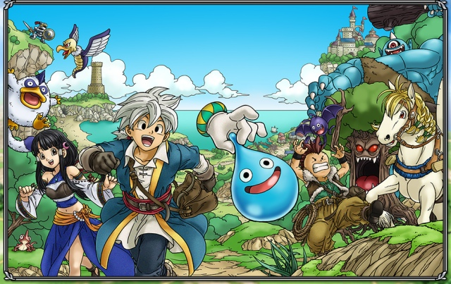 March over to Yahoo! Games for the beta release of Dragon Quest Monster Parade!