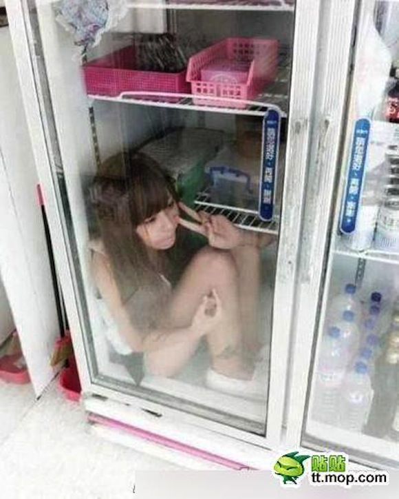 It's an epidemic! Worldwide freezer diving!