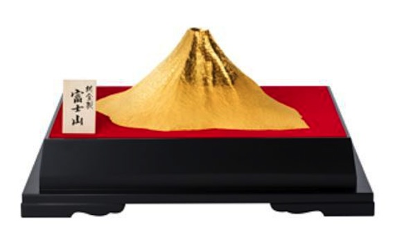 Got a spare $286,000 lying around? Get your 24k gold Mt. Fuji replica while supplies last!