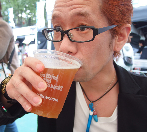 Cold beer – less smelly than fermented soybeans, and by one criteria, healthier too