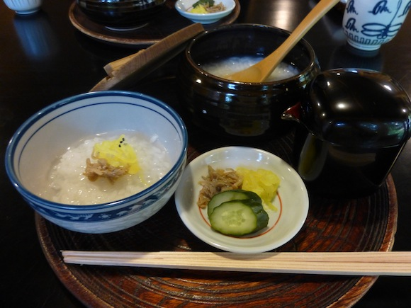Enjoy Kyoto (Part 3) — The ultimate breakfast? Try $45 rice porridge at a 400-year-old restaurant