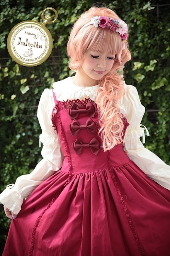 Playing dress-up: Maison de Julietta offers the chance to be a lolita for a day