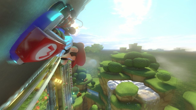 Wii U's Mario Kart 8 shaping up nicely, makes us grin like idiots