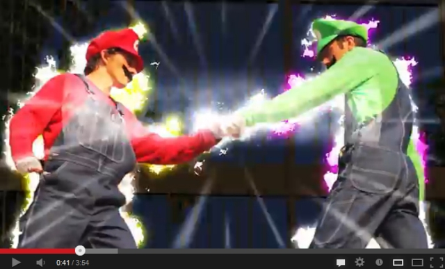 Nintendo's favorite plumbers doing parkour gets big praise in Japan 【Video】