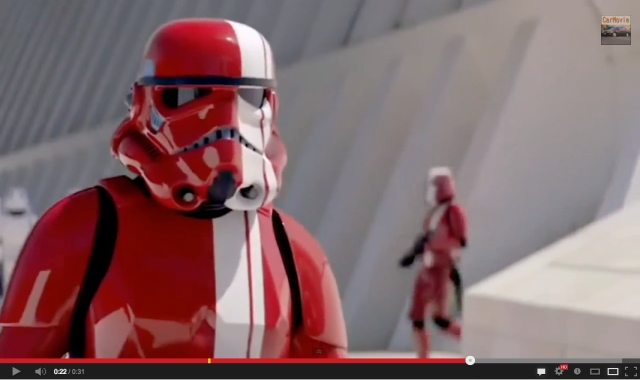 """It's OK to stand out."" Nissan's new stormtrooper ad campaign is awesome"