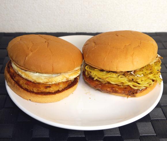 Lotteria craziness continues with the new okonomiyaki burger