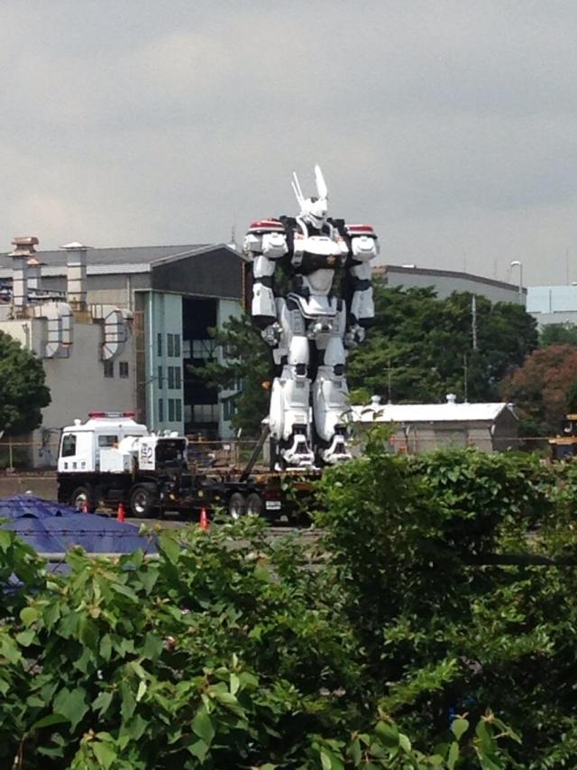 Japan's giant robot proliferation continues as filming starts on live-action Patlabor movie