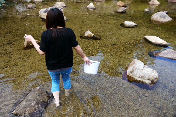 Ever fancied fishing with your bare hands? The Kiso District in Nagano Prefecture could be just the place for you!