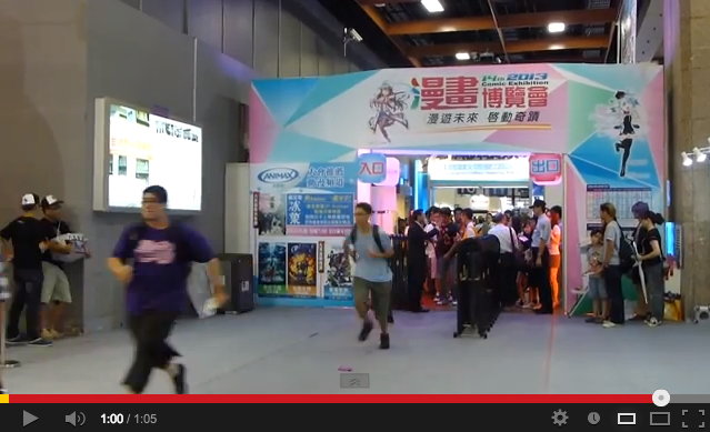 Anime fans sprint into event center to see their favorite voice actor, the Internet chuckles
