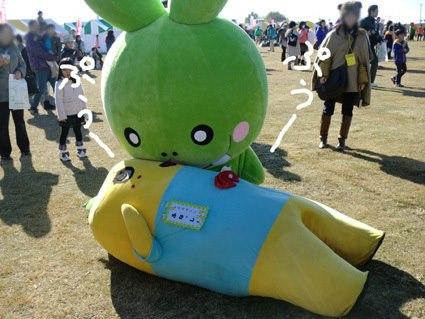 Spastic yellow pear, Funasshi, named top mascot in Japan7