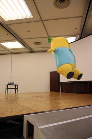 Spastic yellow pear, Funasshi, named top mascot in Japan9