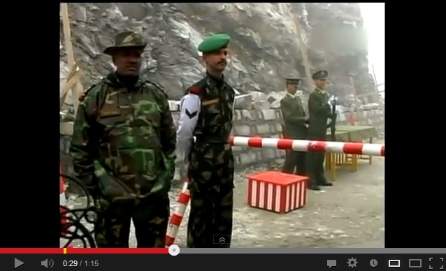 Indian-Chinese military conflict quickly defused with beer and candy