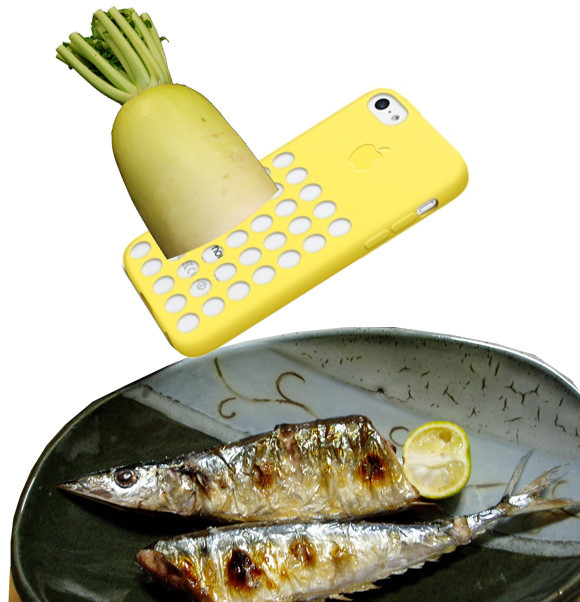 Japan loves the new iPhone5C case! Now they can grate radishes anytime, anywhere