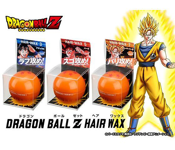 Achieve a super saiyan style with Dragon Ball Z hair wax