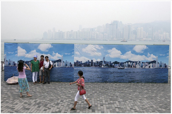 Hong Kong Tourism Board resorts to some unusual tactics to get around China's smog problem