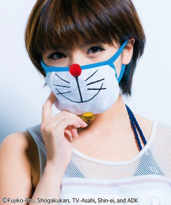 Turn into Doraemon with the help of these adorable masks!