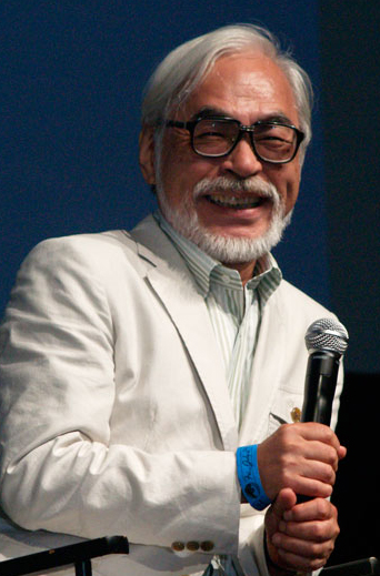 Press conference about Miyazaki's retirement streaming live on Niconico