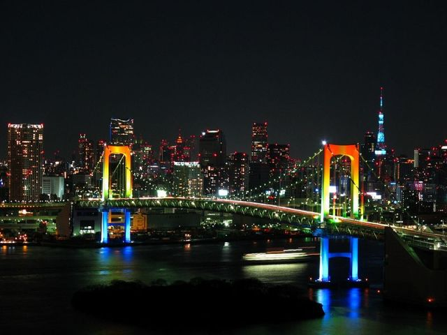 Tokyo's Rainbow Bridge to turn pink for Breast Cancer Awareness Month