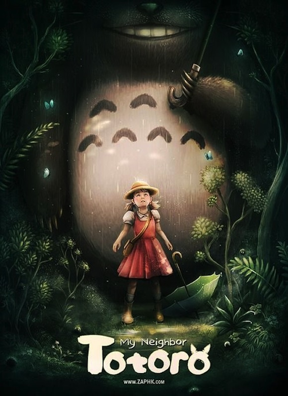 Hardcore Totoro: Western fan art reimagines Studio Ghibli classics with gritty realism
