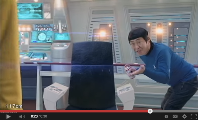 Star Trek fans will either laugh or flip out after watching Japanese Spock sell anti-rust spray