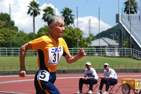 Turbo Gramps: 102-year-old Japanese runner challenges Usain Bolt