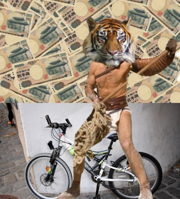 Cyclist in Tiger Mask outfit donates $1,000 to tornado-struck school, disappears